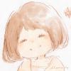 フリーアイコン*女の子・ボブ・笑顔