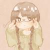 フリーアイコン*めがねっこ・三つ編み