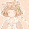 フリーアイコン*ボブ・花冠・森ガール