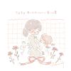 赤いカーネーションの花言葉【5月8日の誕生花】フリーアイコン配布*