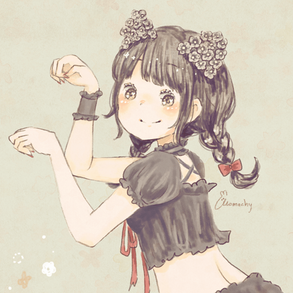 ハロウィンフリーアイコン15*黒猫っこ