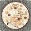 ハロウィンフリーアイコン11*お菓子と女の子