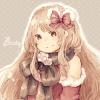 クリスマスフリーアイコン1*クリスマスドレスの女の子