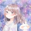 フリーアイコン*紫陽花と女の子
