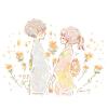 ベニバナの花言葉【6月17日の誕生花】フリーアイコン配布*