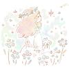 バーベナの花言葉【6月24日の誕生花】フリーアイコン配布*