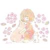 ヘリオトロープの花言葉【6月30日の誕生花】フリーアイコン配布*