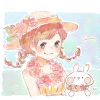 ハイビスカスの花言葉【7月11日の誕生花】フリーアイコン配布*