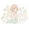 エンレイソウの花言葉【7月24日の誕生花】フリーアイコン配布*