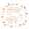 ハルシャギクの花言葉【7月26日の誕生花】フリーアイコン配布*