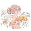 カヤツリグサ(蚊帳吊草)/トンボグサ(蜻蛉草)の花言葉【8月30日の誕生花】フリーアイコン配布*