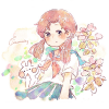ラミウム/ツルオドリコソウ(蔓踊子草)の花言葉【8月24日の誕生花】フリーアイコン配布*