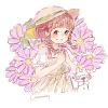 ユウゼンギク(友禅菊)の花言葉【8月26日の誕生花】フリーアイコン配布*