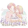 ブルーサルビア/メアリーセージの花言葉【9月3日の誕生花】フリーアイコン配布*