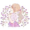 シオン(紫苑)/オニノシコグサ(鬼の醜草)の花言葉【9月9日の誕生花】フリーアイコン配布*