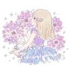 ルリニガナ/カタナンケの花言葉【9月25日の誕生花】フリーアイコン配布*