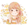 へレニウム/ダンゴギク(団子菊)の花言葉【9月28日の誕生花】フリーアイコン配布*