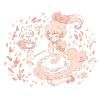テランセラ/モヨウビユ(模様莧)の花言葉【10月14日の誕生花】フリーアイコン配布*