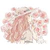 コケバラ(苔薔薇)/モスローズの花言葉【10月16日の誕生花】フリーアイコン配布*