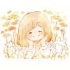 キバナコスモス(黄花秋桜)の花言葉【10月20日の誕生花】フリーアイコン配布*