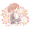 ランタナ/シチヘンゲ(七変化)の花言葉【11月9日の誕生花】フリーアイコン配布*