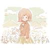ソバ(蕎麦)の花言葉【11月1日の誕生花】フリーアイコン配布*
