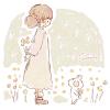 クラスペディア/ゴールドスティックの花言葉【11月11日の誕生花】フリーアイコン配布*