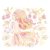 サネカズラ(実葛)/ビナンカズラ(美男葛)の花言葉【11月6日の誕生花】フリーアイコン配布*