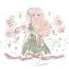 アルストロメリア/ユリズイセン(百合水仙)の花言葉【11月19日の誕生花】フリーアイコン配布*