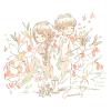 アングレカムの花言葉【11月22日の誕生花】フリーアイコン配布*