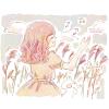 アシ(葦)/ナニワグサ(難波草)の花言葉【12月8日の誕生花】フリーアイコン配布*