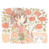 ツバキ(椿)の花言葉【12月10日の誕生花】フリーアイコン配布*