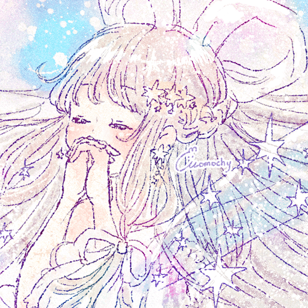 七夕フリーアイコン5*星と織姫