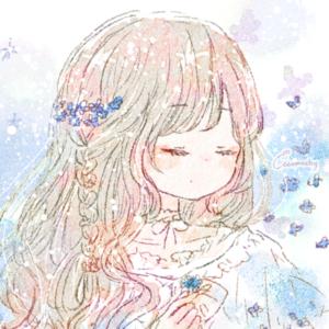 勿忘草(ワスレナグサ)の花言葉【2月29日の誕生花】フリーアイコン配布*