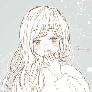 フリーアイコン*チュールスカートの女の子